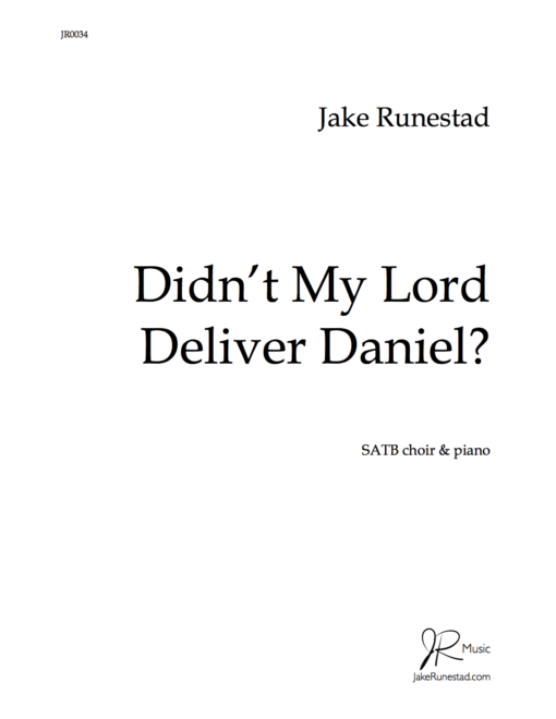 Didn't My Lord Deliver Daniel (title)