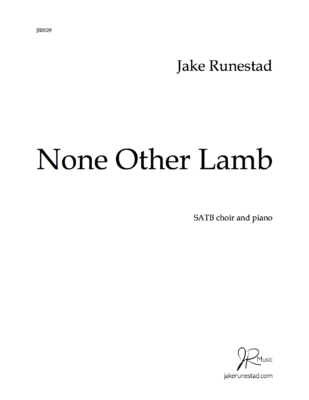 None Other Lamb title