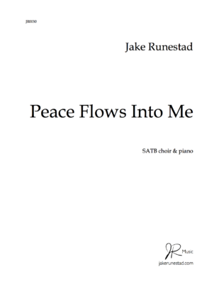 Peace Flows Into Me