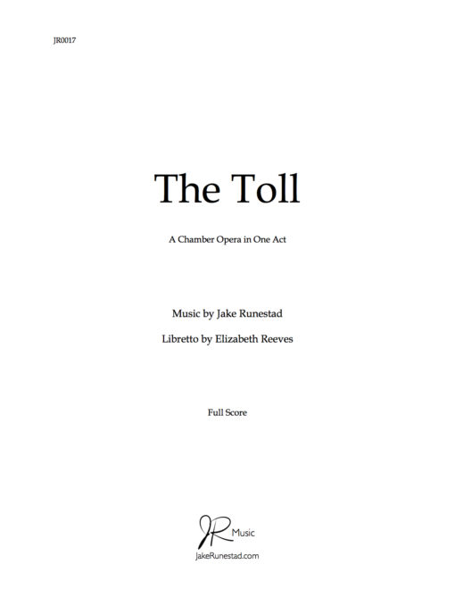 The Toll by Jake Runestad