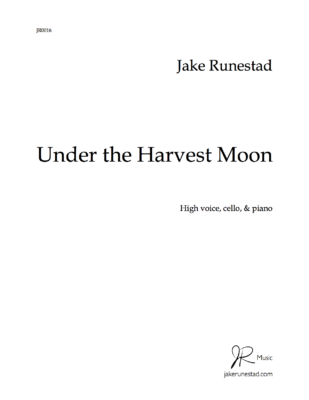 Under the Harvest Moon