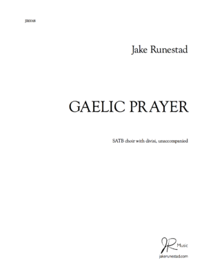 Gaelic Prayer (SATB)