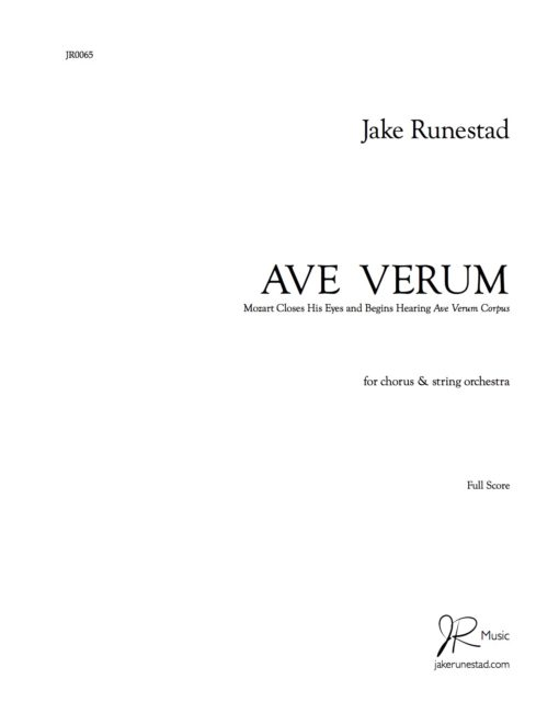 music analysis of ave verum Music volume 1 of 1 choral style and identity in recordings of william byrd by caroline amy vince thesis for the degree of doctor of philosophy april 2016 concentrating specifically on recordings of byrd's ave verum corpus and 'agnus dei' from the mass for four voices, this thesis computer-assisted analysis.