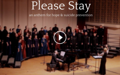 #PleaseStay — music for suicide prevention